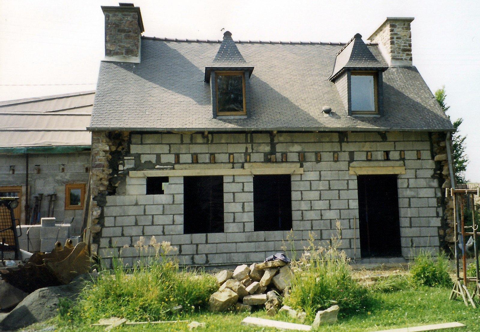 D Molition Et Remontage D Une Facade Sur Une Maison Ancienne Lml Entreprise De Ma Onnerie