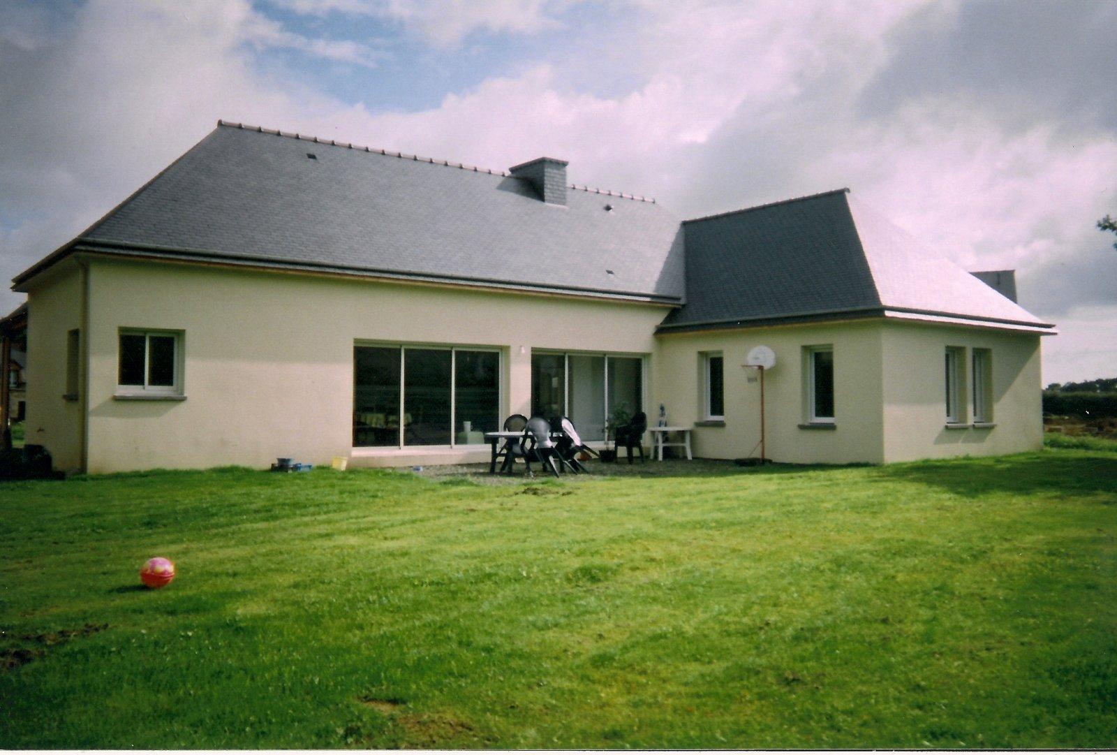 Exemples de maisons neuves lml entreprise de for De ma maison